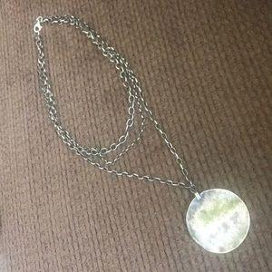 Layered Silpada necklace